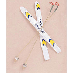 Miniature - Ski Set (4-Pieces)