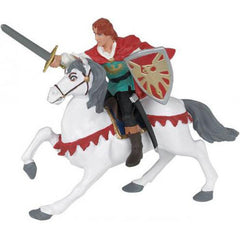 Storybook Prince on Horseback (2-Figures)