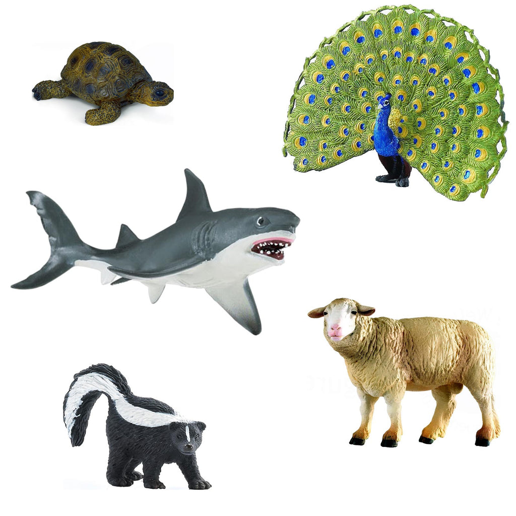 Miniature - Symbolic Animals I (5-Figure Set)
