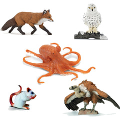 Miniature - Symbolic Animals II (5-Figure Set)