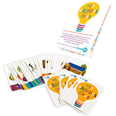Mis Grandes Ideas - Sentence Completion Card Game