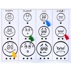 Mixed Emotions Therapy Board Game - JUNIOR Version