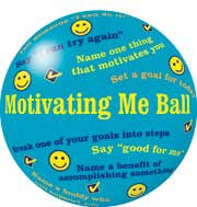 Motivating Me Game Ball