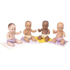 Set of All 4 Multicultural Baby Dolls