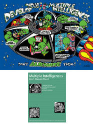 "Multiple Intelligences Poster Set (Includes 18"" x 24"" Poster & Guidebook)"