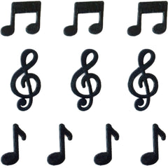 Miniature - Music Notes (Set of 10)