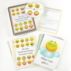 My Face Emotional Literacy Discussion Cards & CD-ROM