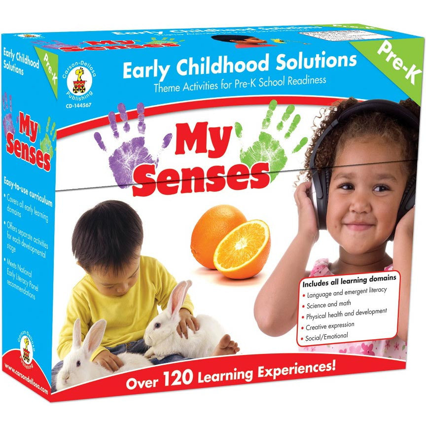 MY SENSES Activity Kit (English & Spanish)