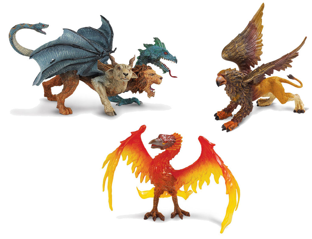 Mythical Beasts (3-Piece Set)
