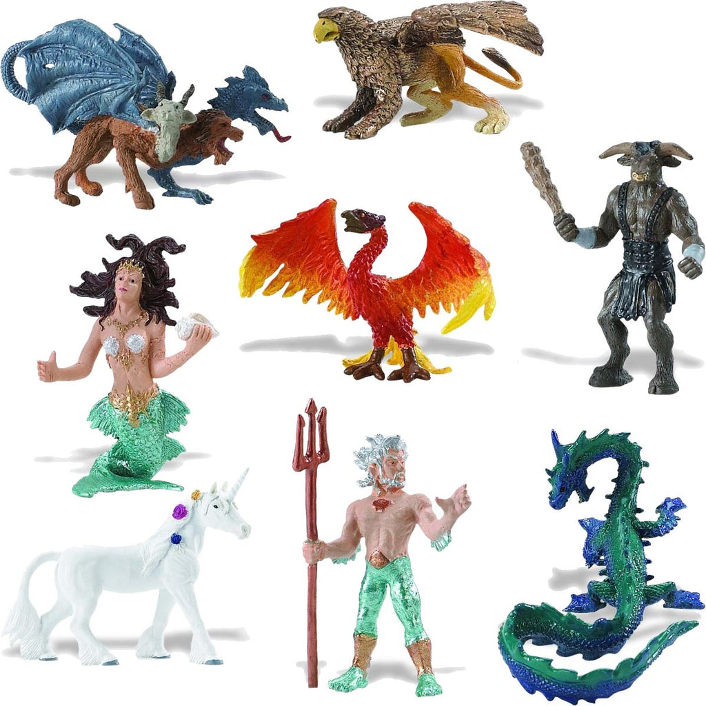 Miniature - Mythical Realms Set (8-Figures)