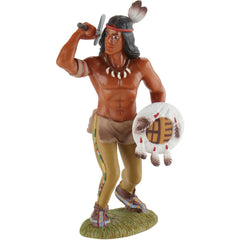 Native-American Warrior w/ Axe & Shield