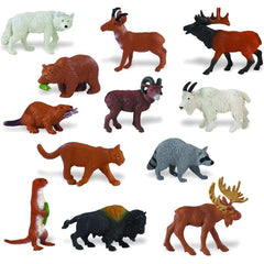 Miniature - North American Wildlife Set (12-Figures)