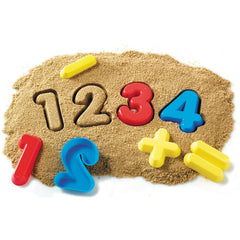 NUMBERS & SYMBOLS - Sand Molds (26-Pieces)
