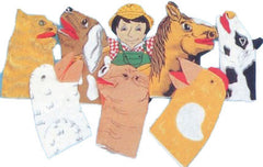 Old MacDonald Farm Puppet Set (8 Puppets)