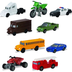 Miniature - 'On the Road' Set (9 Vehicles)