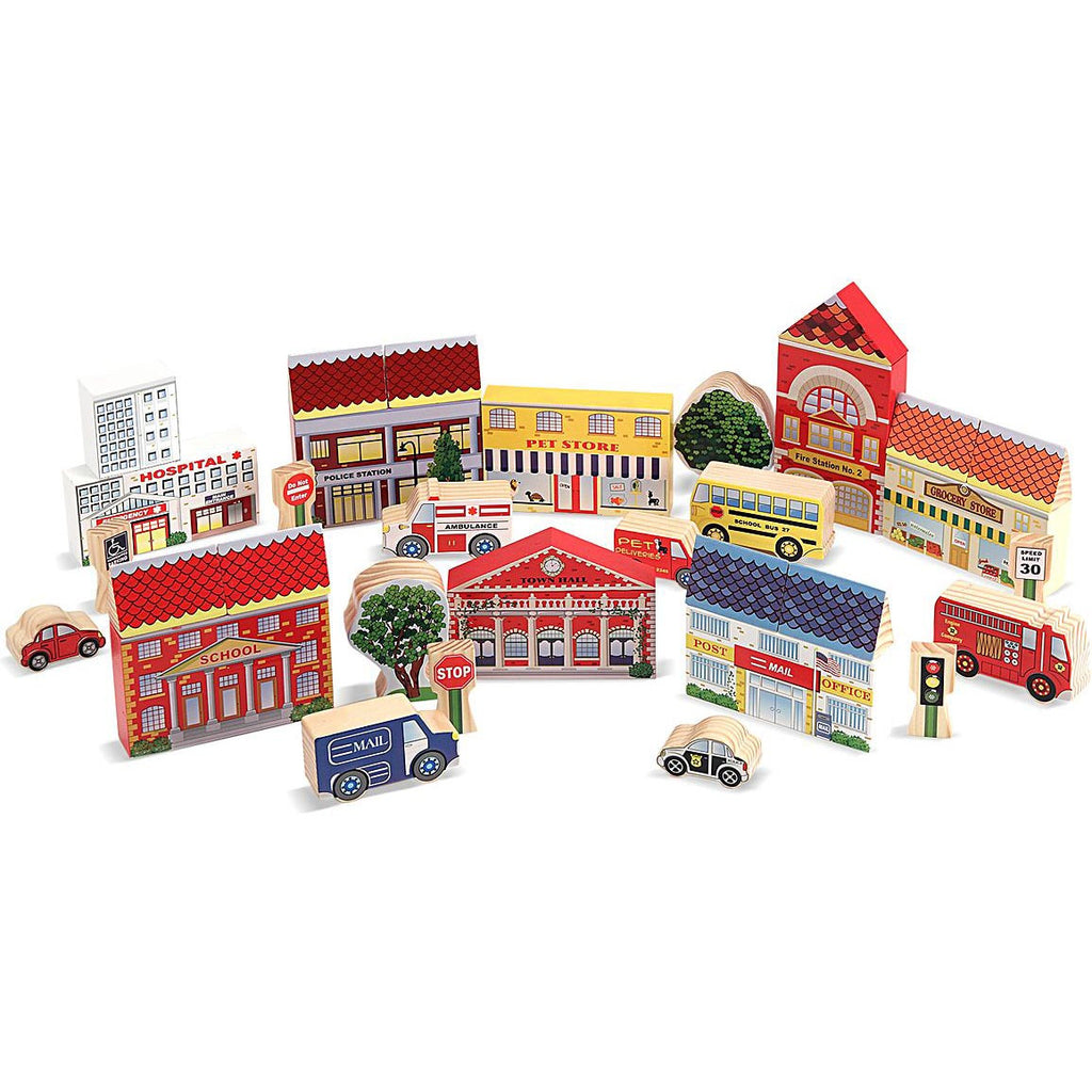 'Our Town' Versatile Play Set (35-Pieces)