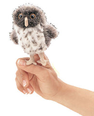 Symbolic - Spotted Owl Finger Puppet