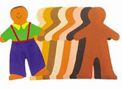 Multicultural People (Paper Doll Pad)