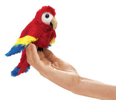 Small Pets - Macaw Finger Puppet