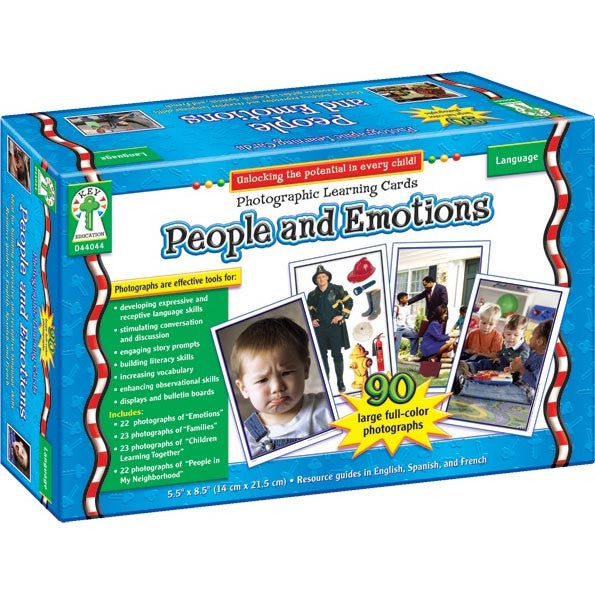 People and Emotions (Photographic Learning Cards)