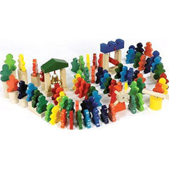 People Domino Rally - 94 Pcs.