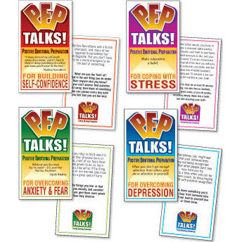 PEP Talks! Card Set  (4 Card Decks)