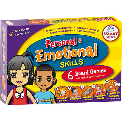 Personal & Emotional Skills Board Games (6 Board Games)
