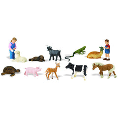 Miniature - Petting Zoo Set (12-Figures)