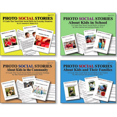 Photo Social Stories Card Set (4 Games)