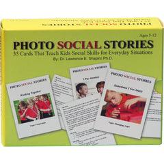 Photo Social Stories - Social Situations Card Game