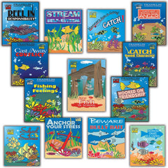 The Play 2 Learn Go Fish: Counseling Package (Set of 13 Card Games)