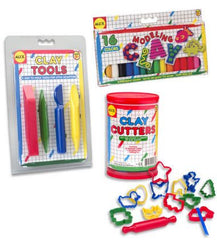 Modeling Clay Kit (Clay, Cutters, &Tools)