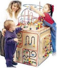"Deluxe Play Cube (24"" x 24"" x 45"")"