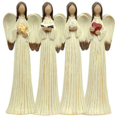 "Angel Figurine (Darker Skin Tone, 7""H)"