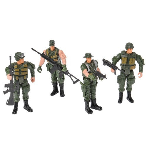 Poseable Soldiers (Set of 4)