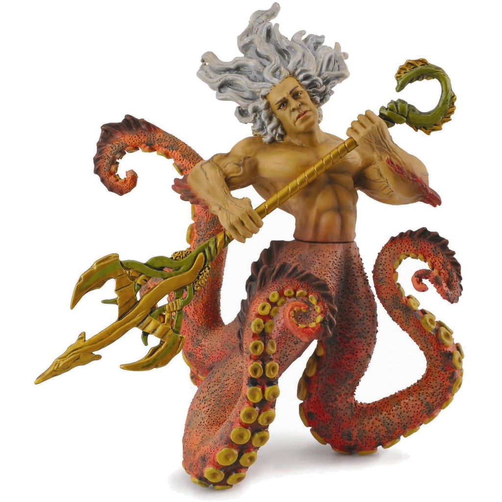 "Poseidon - God of the Sea (4.5"" Poseable Figure)"