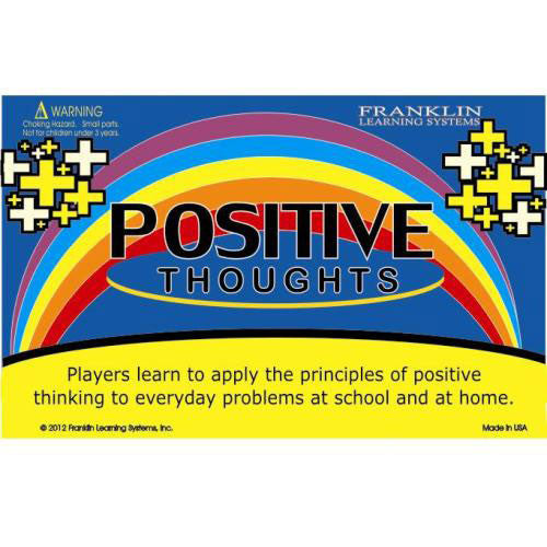 POSITIVE Thoughts Card Game