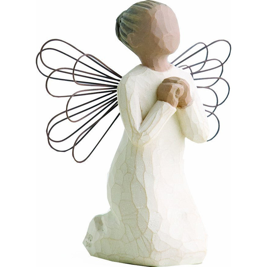"Praying Angel (4""H, Darker Skin Tone)"