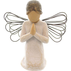 "Praying Angel (4""H, Lighter Skin Tone)"