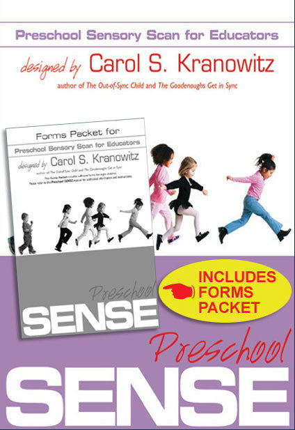 Preschool Sensory Scan for Educators (SENSE): Manual + Forms Packet