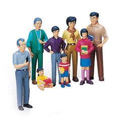 Pretend Play Asian Family (8-Figures)