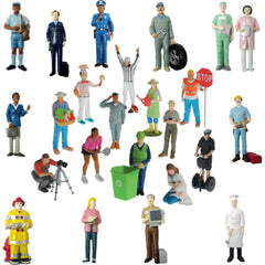 Pretend Play Career Figures - Sets I & II