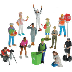 Pretend Play Career Figures II