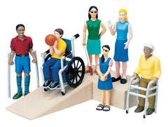 Pretend Play - Diverse Ability Figures (6-Figures)
