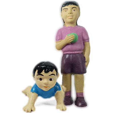 Pretend Play Girl & Baby (Hispanic)