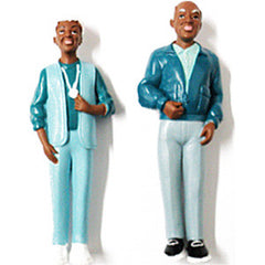 Pretend Play Grandparent Figures (African-American)