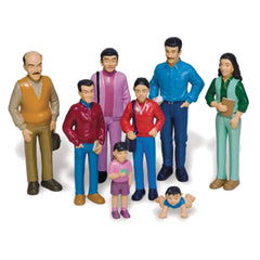 Pretend Play Hispanic Family (8-Figures)