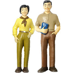 Pretend Play Male & Female Figures (Asian)