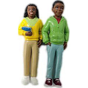 Pretend Play Teenagers, African-American