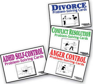 Problem-Solving Cards (Set of 4)
